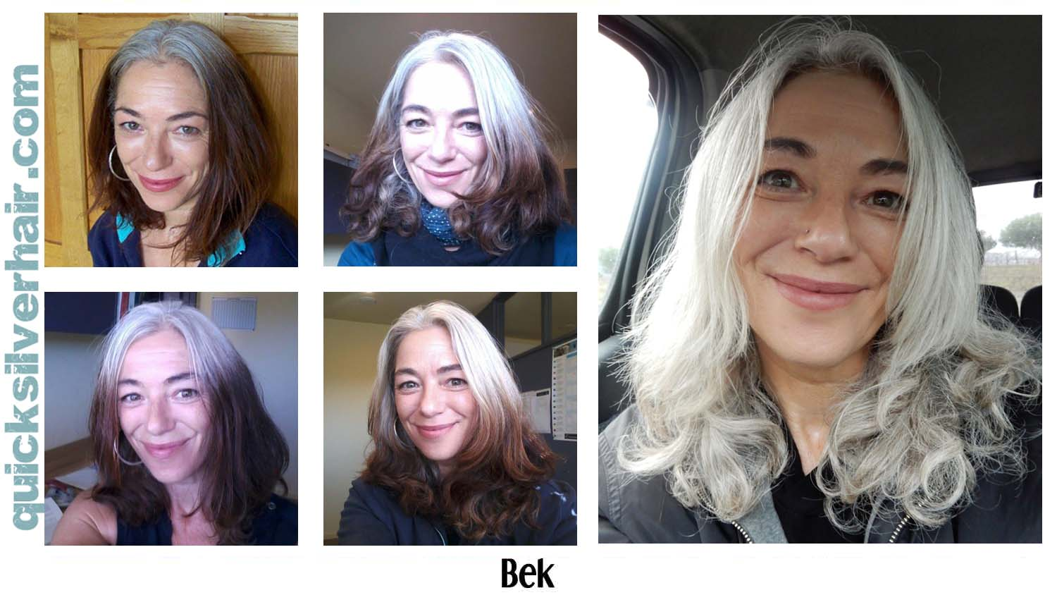How Do You Transition from Dyed Hair To Your Natural Grey ...