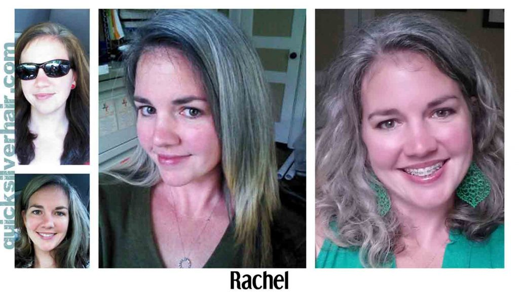 Transition from Dyed Hair To Your Natural Grey