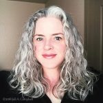 image of Joli A. Campbell ~ QuickSilverHair ~ Gray Hair Blogger