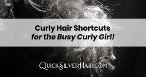 Curly Hair Shortcuts for Busy Curly Girl feature image