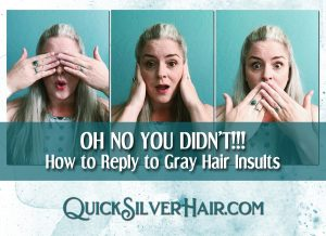 Reply to Gray Hair Insults feature image