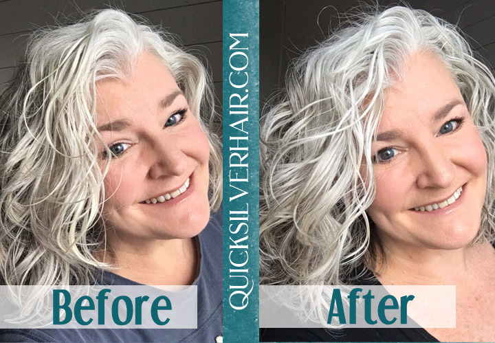 QuickSilverHair Before and After Review image