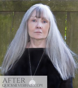 Image of Kathy E after quicksilverhair