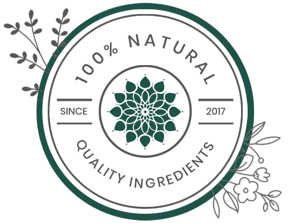 All of What You Want and None of What You Don't natural Ingredients Badge