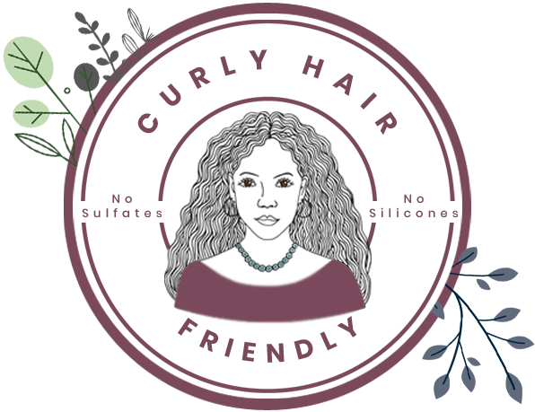 All of What You Want and None of What You Don't woman owned badge Curly Hair