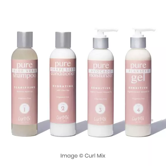 fragrance free curl mix image