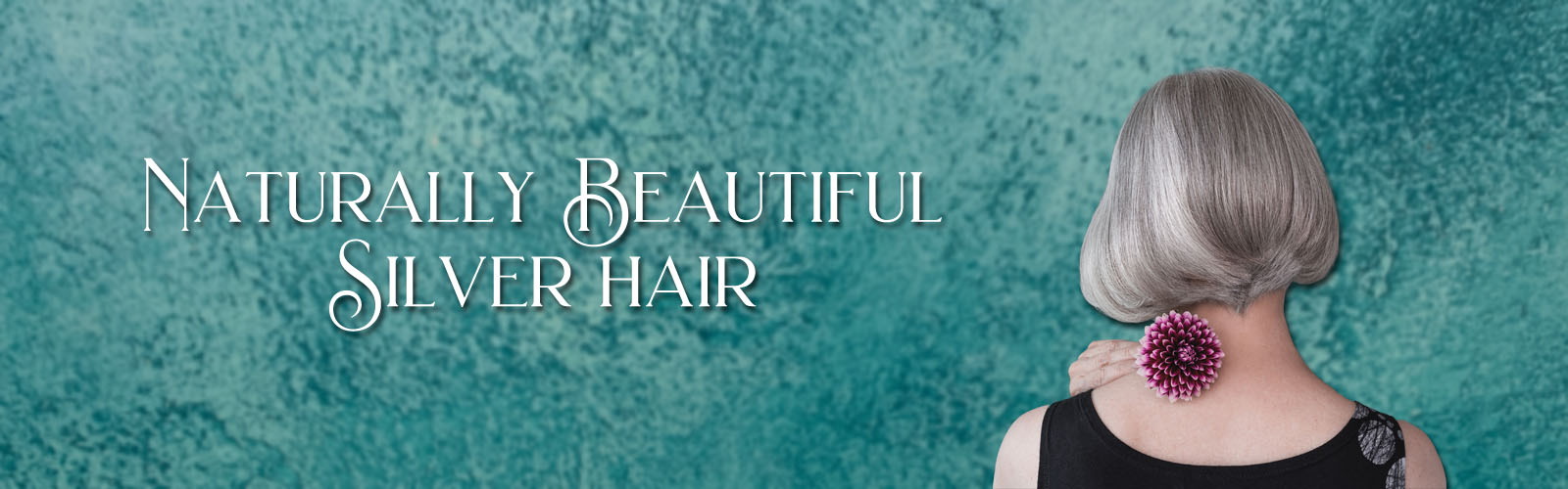 Naturally Beautiful Silver Hair Banner header image