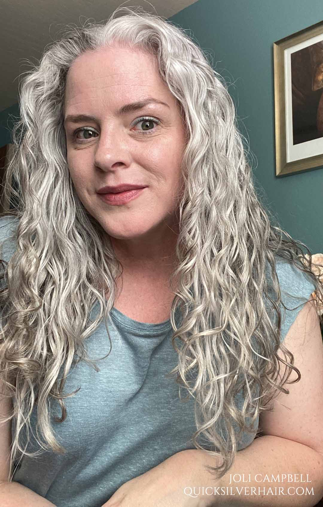 Joli after Loma Violet Shampoo and Conditioner