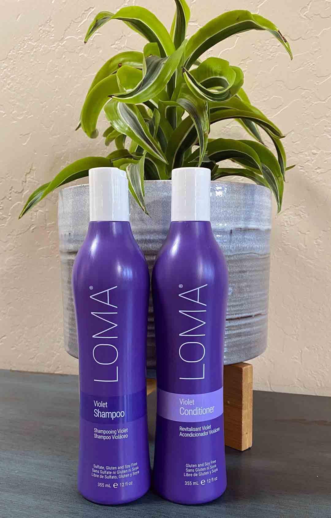 Loma Purple Shampoo and Conditioner